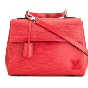 Louis Vuitton Epi Cluny BB Red